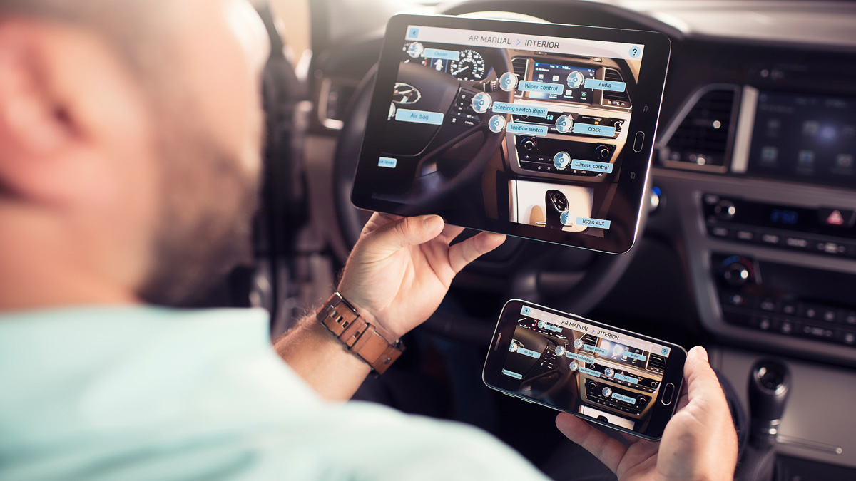 Ya puedes disfrutar aprendiendo sobre tu vehiculo gracias a la realidad aumentada.
